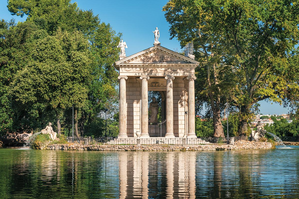 Villas & Gardens of Rome
