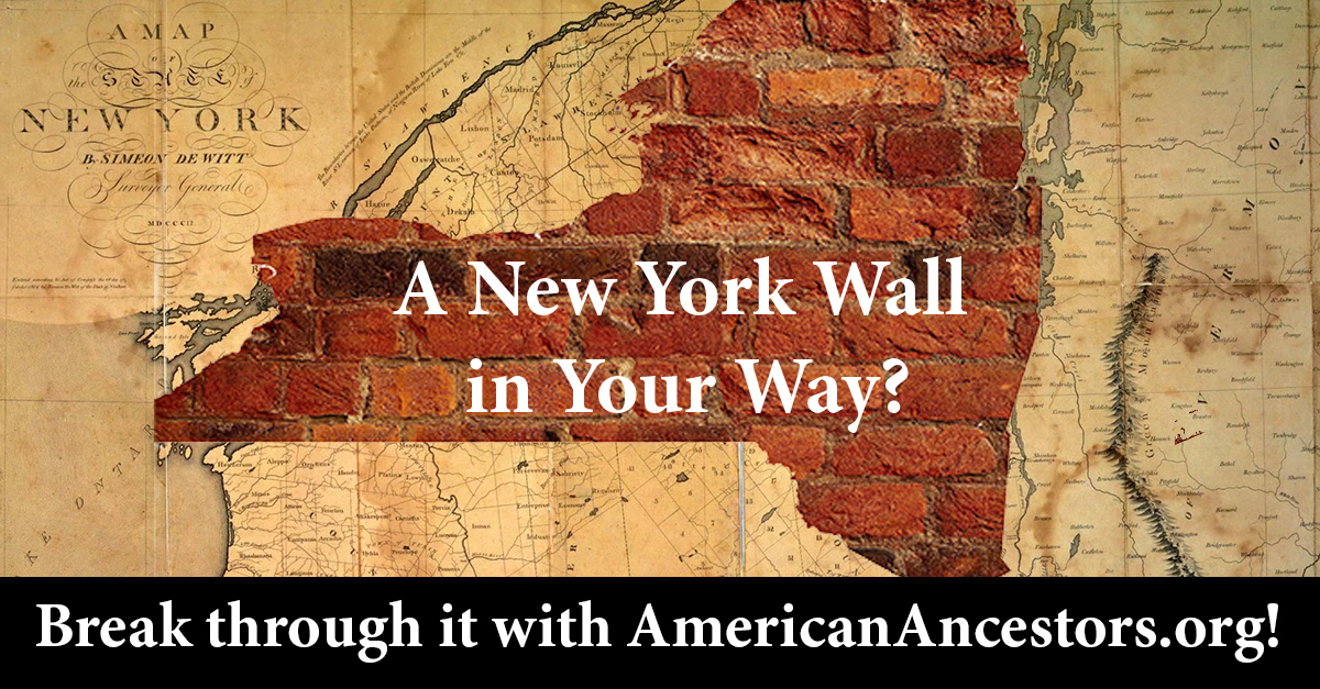 New York Research with the Experts at NEHGS