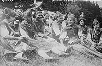 German Caddies ca. 1910