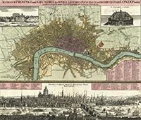 London in 1740