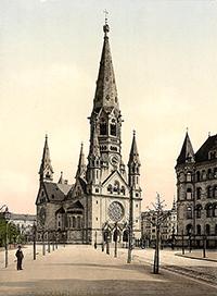Emperor Wilhelm's Memorial Church, Berlin, Germany