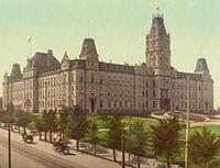 Parliament Buildings, Quebec, 1901