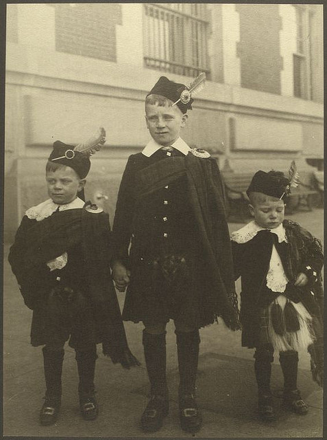 Scottish boys_NYPL