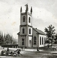 St. Augustine Church ca. 1880