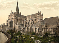 St. Patrick's Cathedral ca. 1890