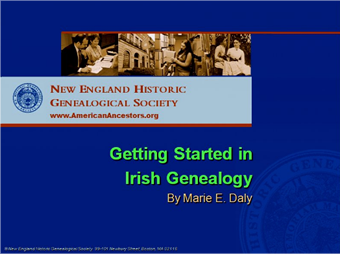 getting started in Irish genealogy