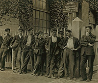 Workers at Lorraine mfg. co, Westerly_LOC