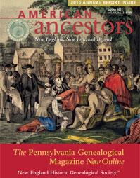 American Ancestors Spring 2011