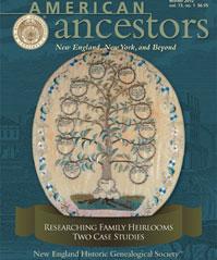 American Ancestors Winter 2012
