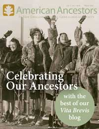 American Ancestors Winter 2016
