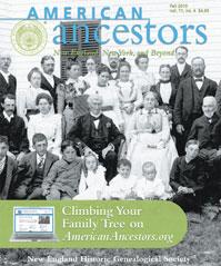 American Ancestors Fall 2010