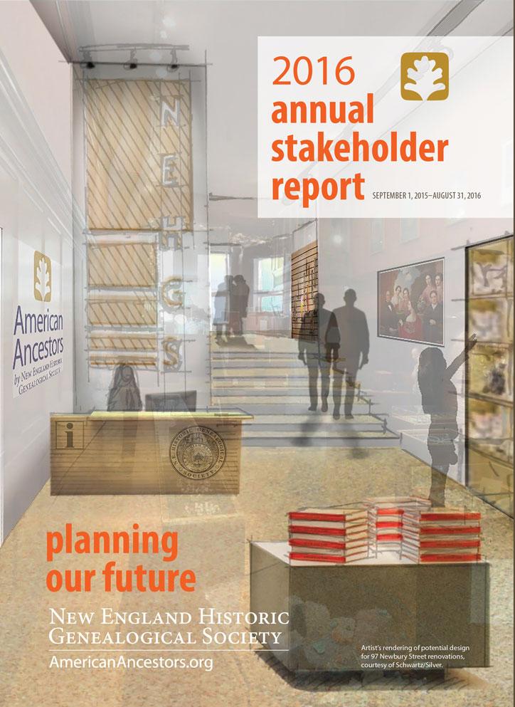 Annual Report 2016 Cover