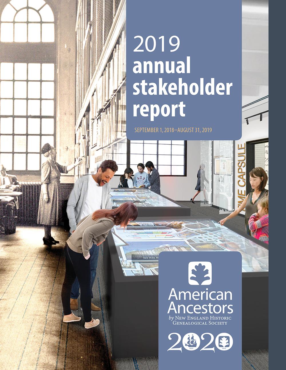NEHGS 2019 Annual Stakeholder Report