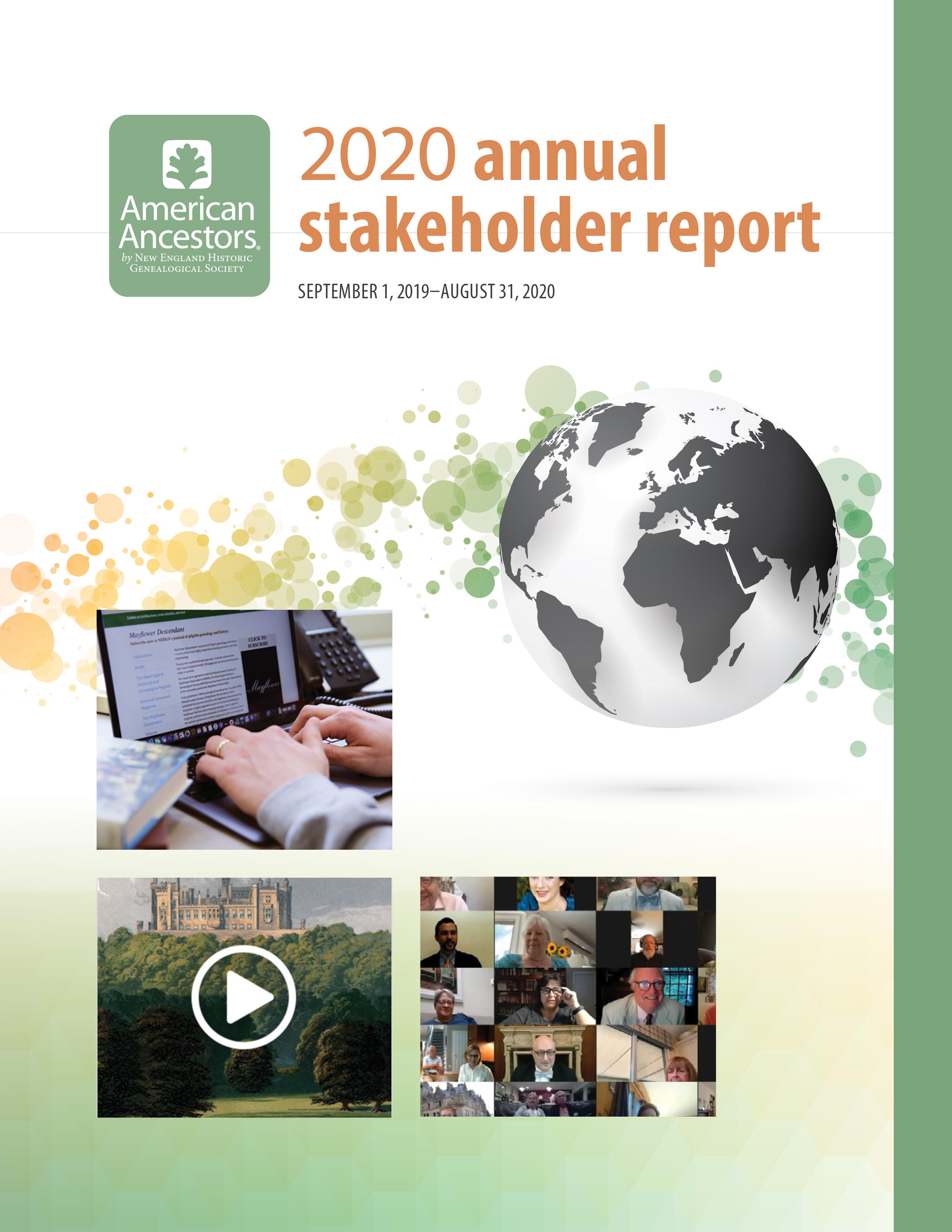 NEHGS 2020 Annual Stakeholder Report