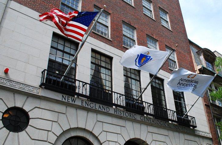 NEHGS Headquarters, 99-101 Newbury Street