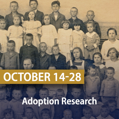Adoption Research, October 14-28