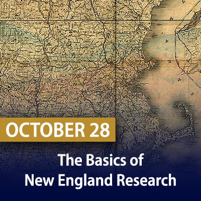 Basics of New England Research, October 28