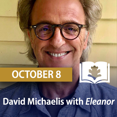 David Michaelis with Eleanor, October 8