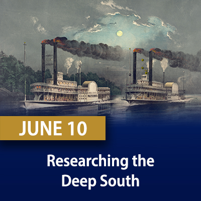 Researching the Deep South, June 10