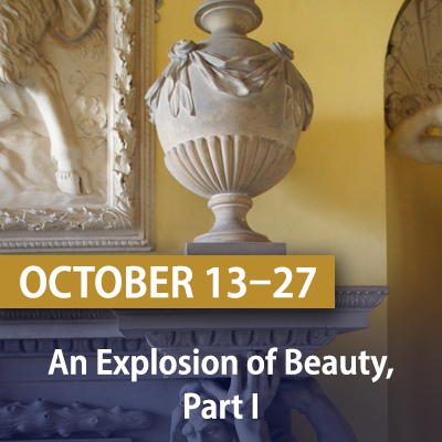 An Explosion of Beauty, Part I, October 13-27