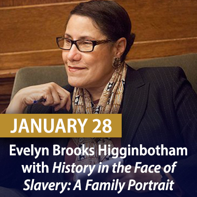 Virtual Family History Benefit featuring Evelyn Brooks Higginbotham, January 28