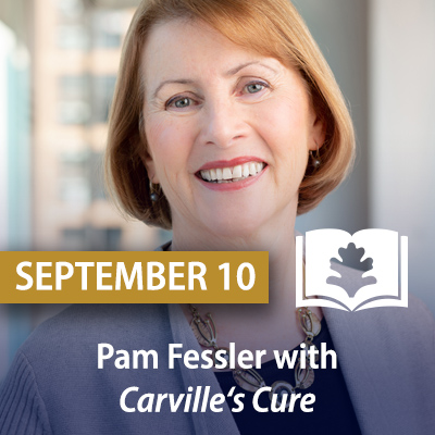 Pam Fessler with Carville's Cure: Leprosy, Stigma, and the Fight for Justice, September 10