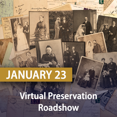 Virtual Preservation Roadshow, January 23