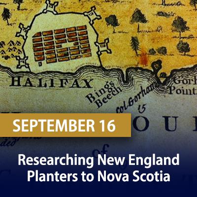 Researching New England Planters to Nova Scotia, September 16
