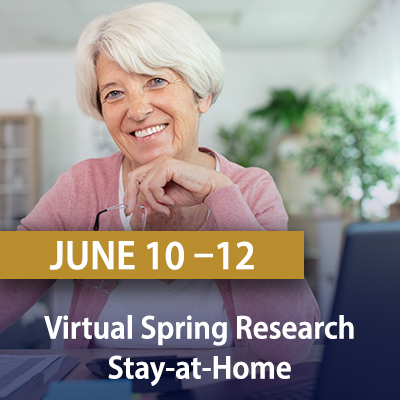 Virtual Spring Research Stay-At-Home, June 10-12