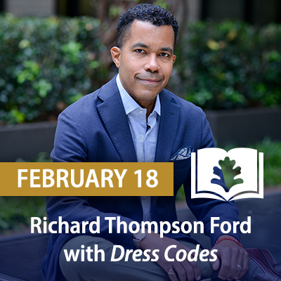 Richard Thompson Ford with Dress Codes: How the Laws of Fashion Made History, February 18
