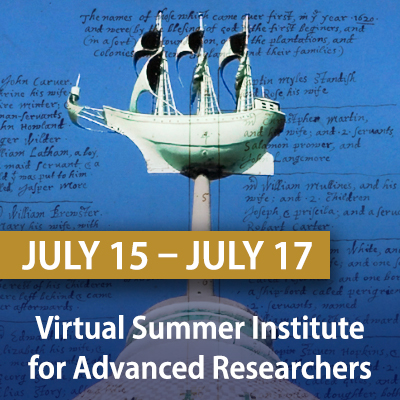 Virtual Summer Institute for Advanced Researchers, July 15 - 17