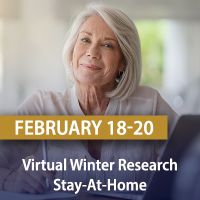 Virtual Winter Research Stay-At-Home, February 18-20