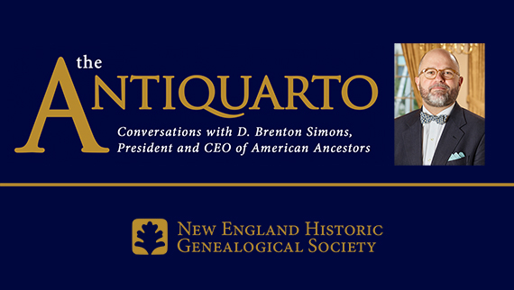 Watch Antiquarto: Conversations with D. Brenton Simons, President and CEO