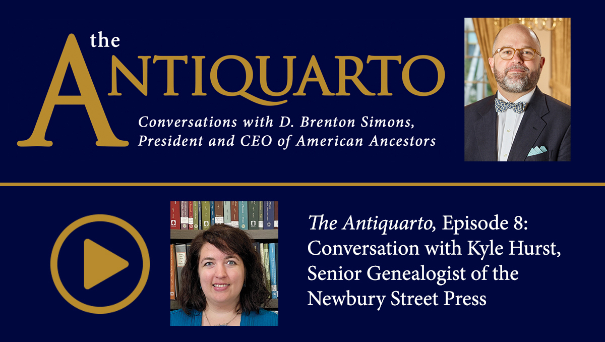 Watch Episode 8 of Antiquarto: Conversations with D. Brenton Simons, President and CEO