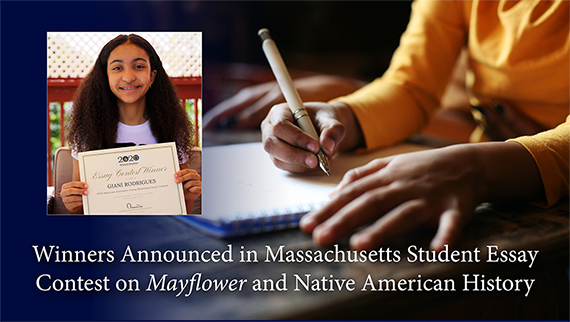 Winners announced for Mayflower Essay Contest