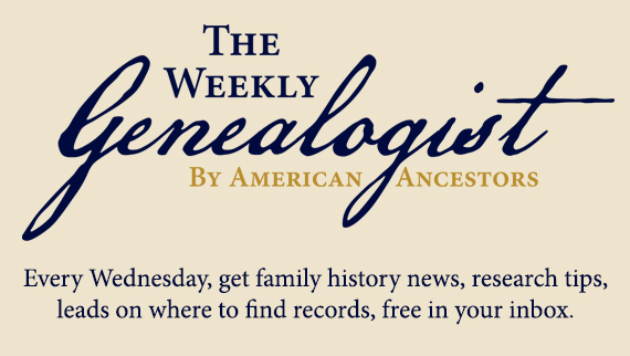 Subscribe to The Weekly Genealogist