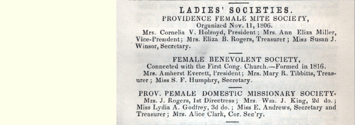 Browns Providence Directory 1859