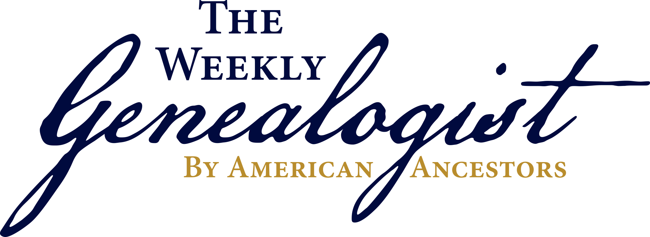 The Weekly Genealogist by American Ancestors