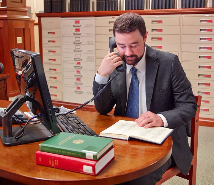 Andrew Krea on phone