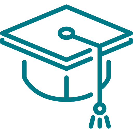Icon of a mortarboard