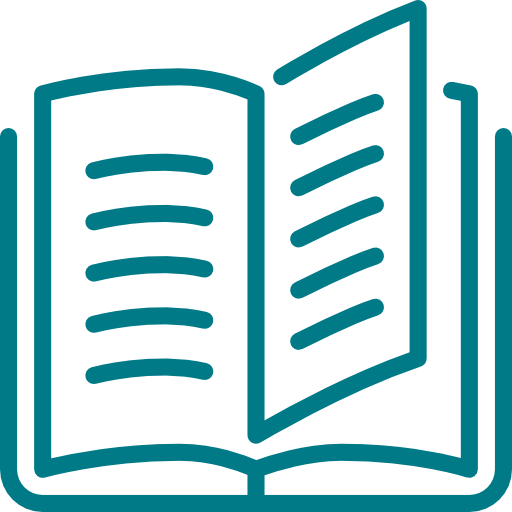 Icon of open book
