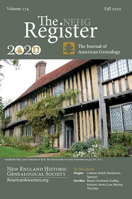 2020 Register Cover